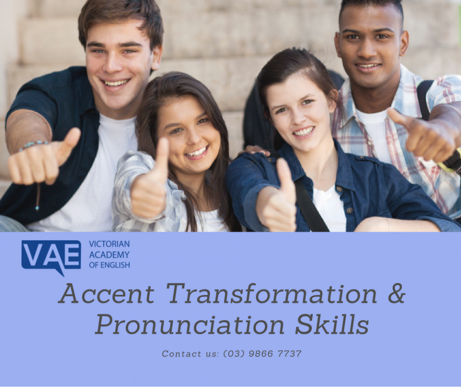 Accent Transformation & Pronunciation Skills | Victorian Academy of English