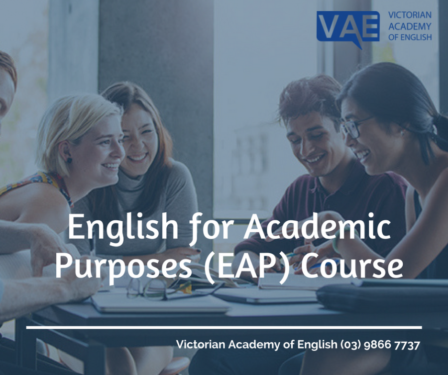 EAL English for Academic Purpose | Victorian Academy of English